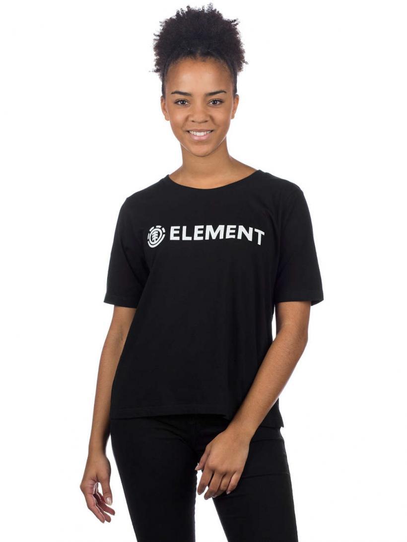 Element Logo Crew T-Shirt Black | Mens/Womens T-Shirts