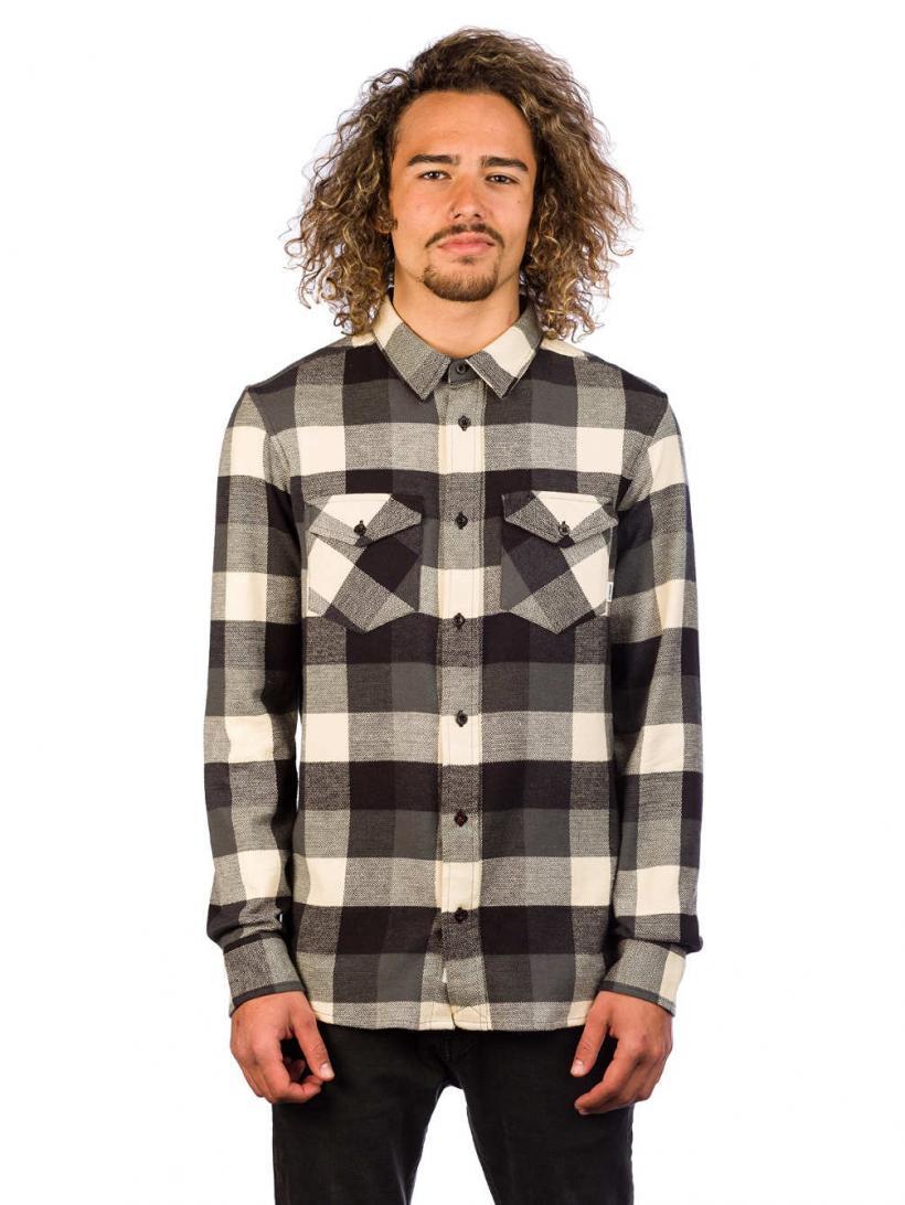 Element Tacoma 2.0 Shirt LS Flint Black | Mens Shirts