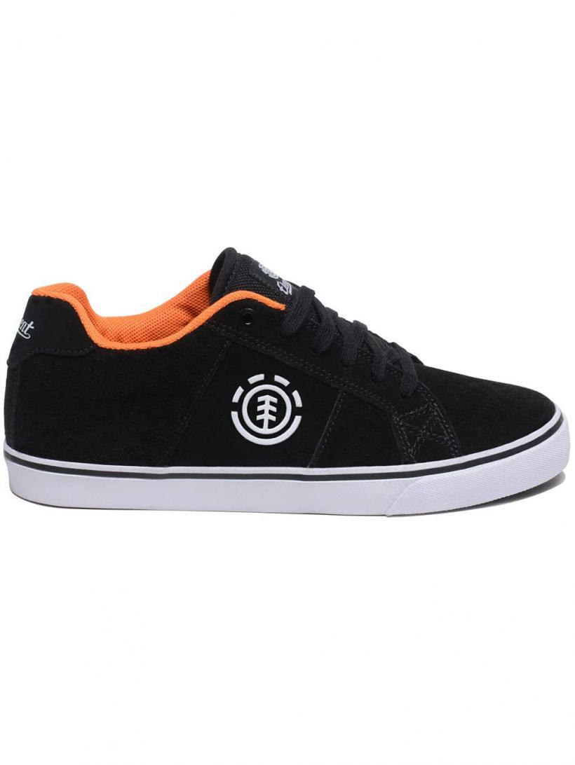 Element Winston Black Orange | Mens Sneakers