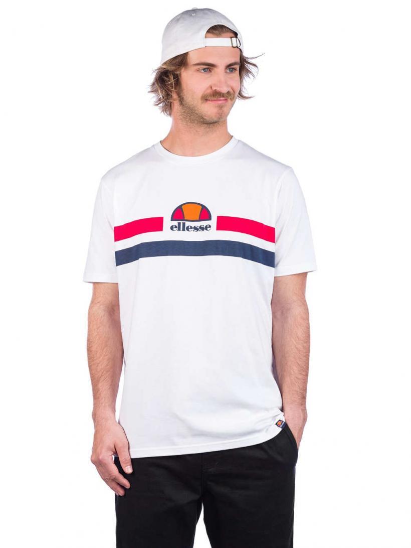 Ellesse Aprel T-Shirt White | Mens T-Shirts