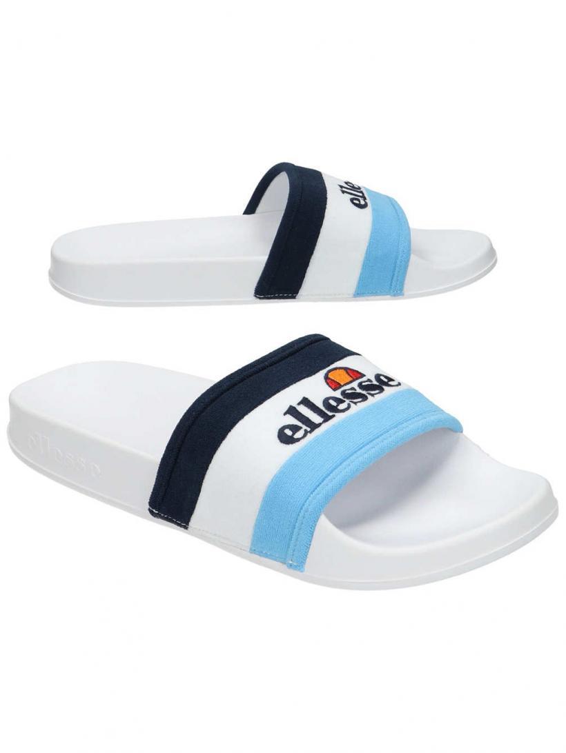 Ellesse Borgaro Alaskan Blue/White/Navy | Mens Sandals