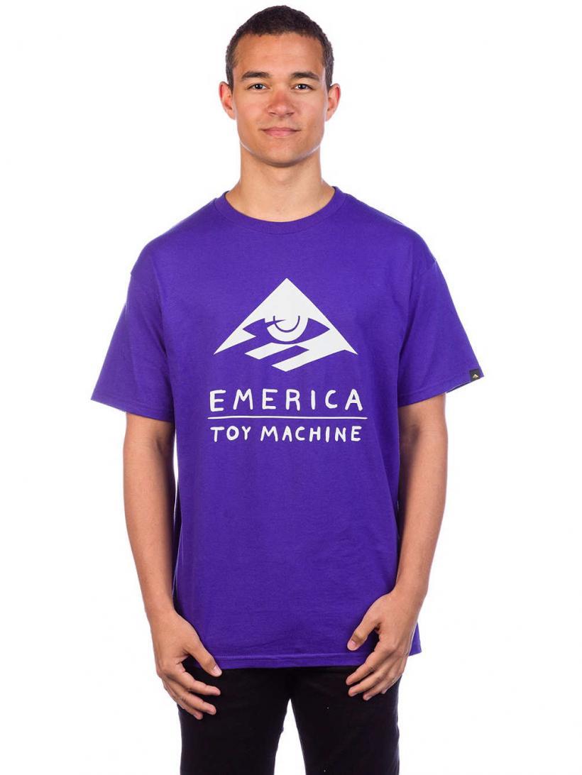 Emerica Toy T-Shirt Purple   Mens T-Shirts