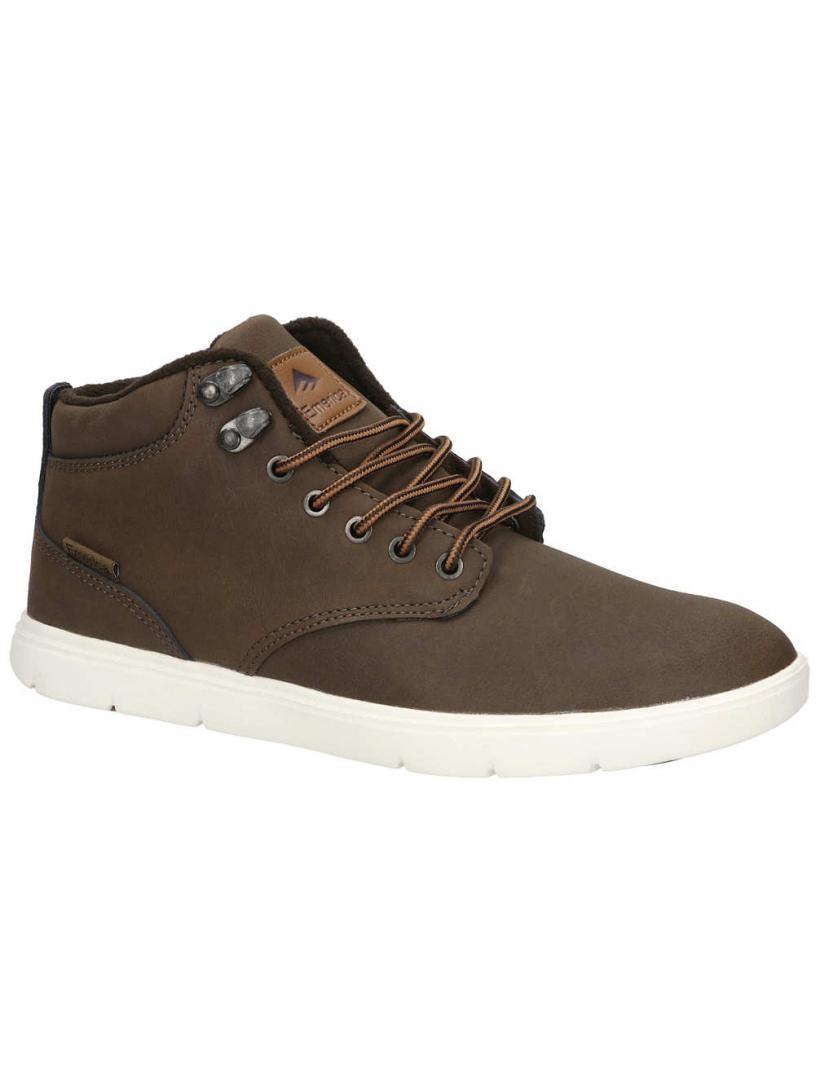 Emerica Wino HLT Dark Brown | Mens Sneakers