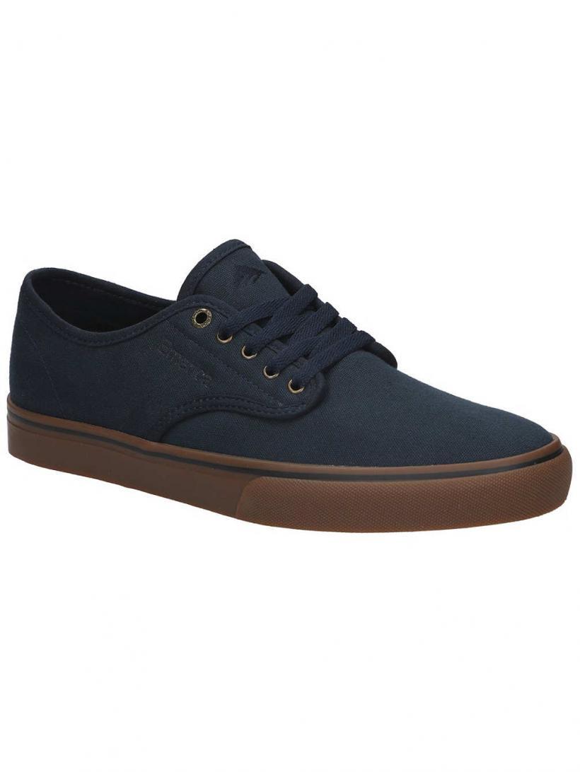 Emerica Wino Standard Navy/Gum/Gold | Mens Skate Shoes