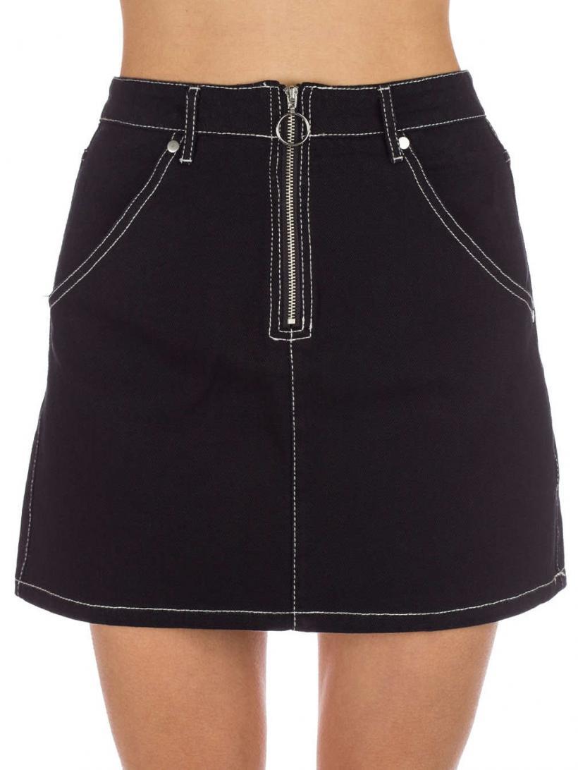 Empyre Elliot Skirt Black O Ring | Womens Dresses
