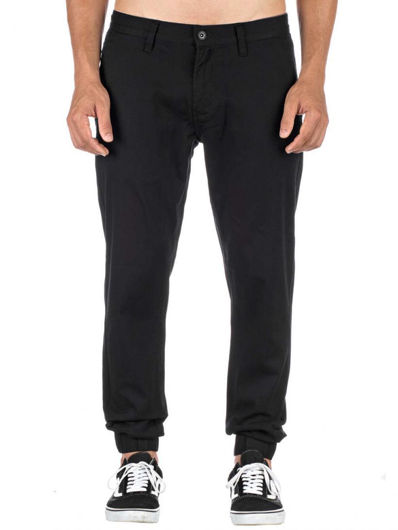 Empyre Jag Pants Black | Mens Chino Pants