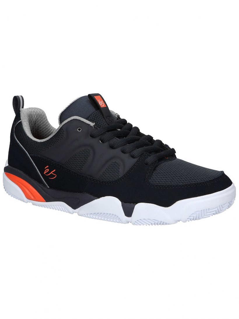 Es Silo Navy/Grey/Orange | Mens Sneakers