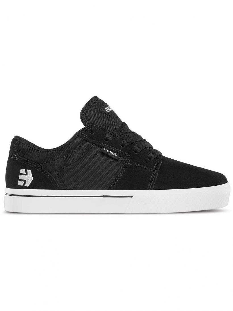 Etnies Barge LS Black/White | Mens Skate Shoes