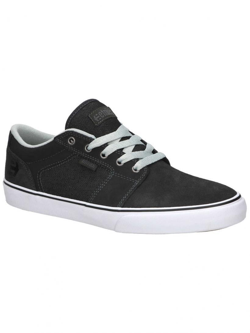 Etnies Barge LS Dark Grey | Mens Skate Shoes