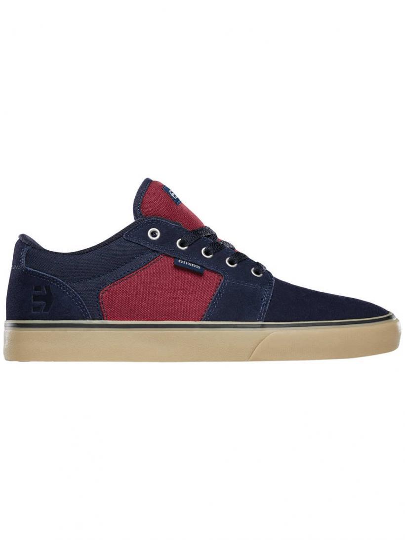 Etnies Barge LS Navy/Red/Gum | Mens Skate Shoes
