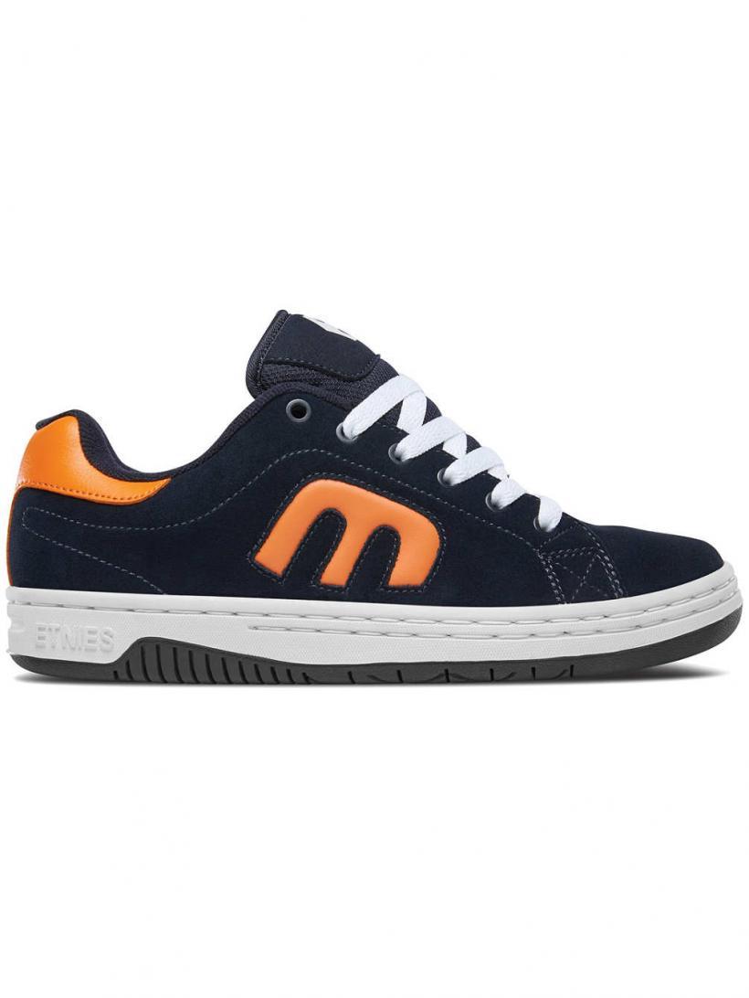 Etnies Calli-Cut Navy/Orange/White | Mens Skate Shoes