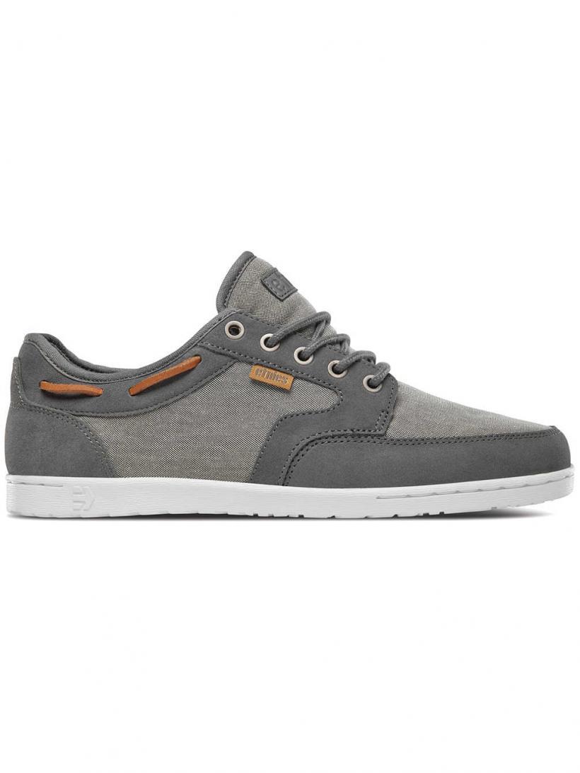 Etnies Dory Grey/Silver   Mens Sneakers