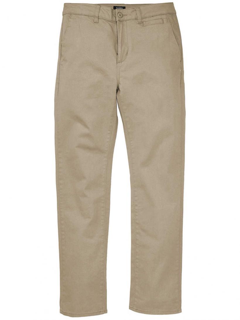 Etnies Essential Slim Chino Pants Khaki | Mens/Womens Chino Pants