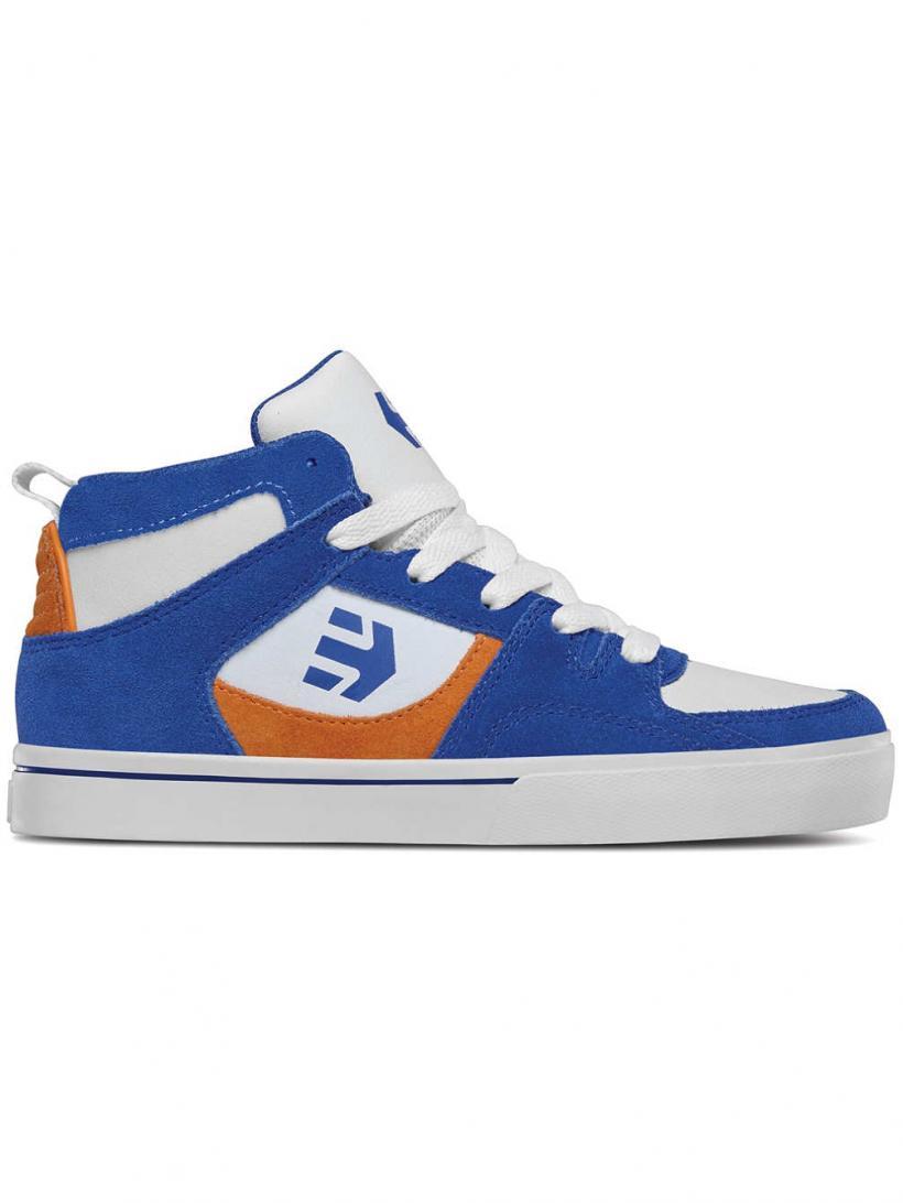 Etnies Harrison HT Royal/Orange/White | Mens Skate Shoes