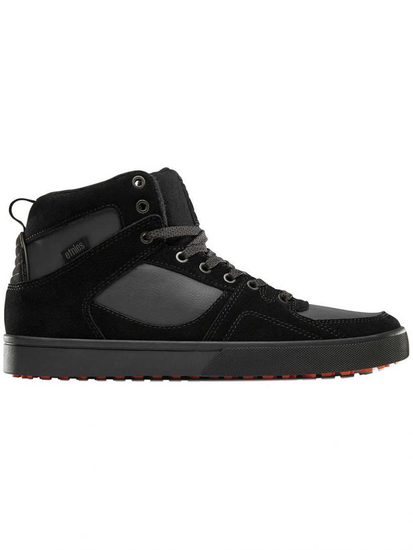 Etnies Harrison HTW Black/Dark Grey/Gum   Mens Sneakers