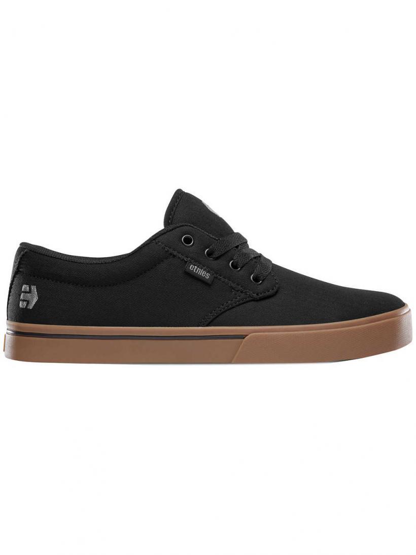 Etnies Jameson 2 Eco Black/Gum/Silver   Mens Skate Shoes