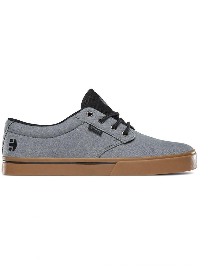 Etnies Jameson 2 Eco Grey/Black/Orange | Mens Skate Shoes