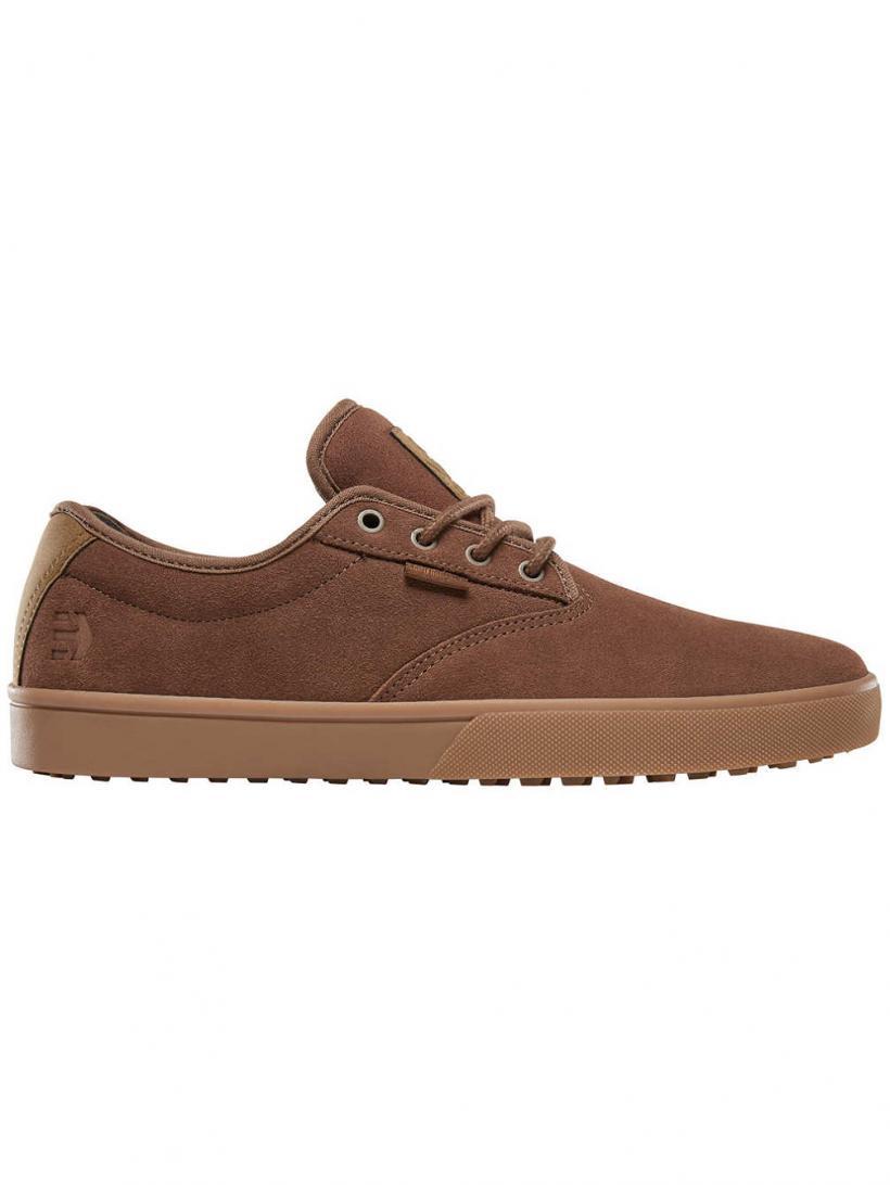Etnies Jameson SLW Brown/Gum/Gold | Mens Sneakers