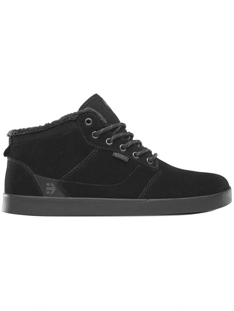 Etnies Jefferson Mid Black/Black   Mens Winter Shoes