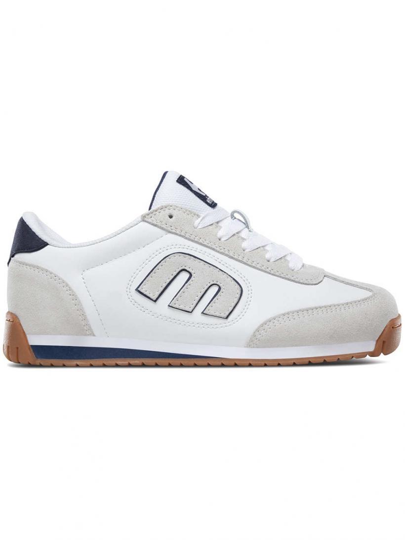 Etnies Lo-Cut II LS White/Navy/Gum | Mens Sneakers