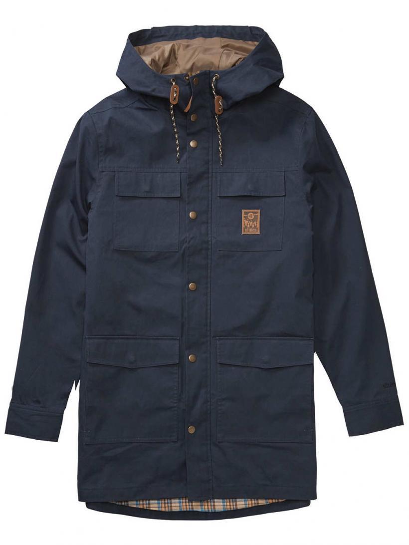 Etnies Manchester Parka Navy | Mens Jackets