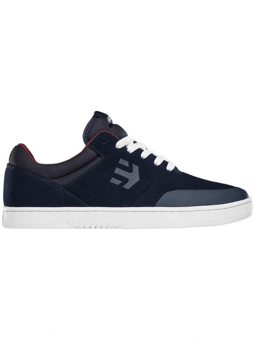 Etnies Marana Navy/White/Red   Mens Skate Shoes