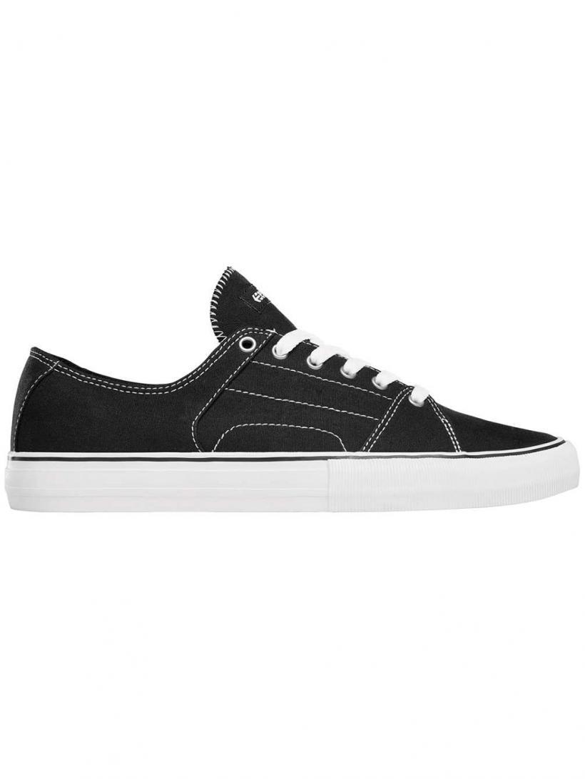 Etnies RLS Black/White/Silver   Mens Sneakers