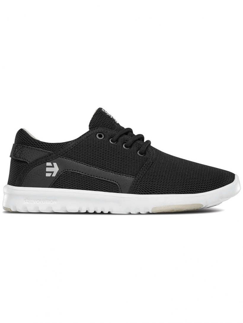 Etnies Scout Black/Tan | Mens/Womens Sneakers