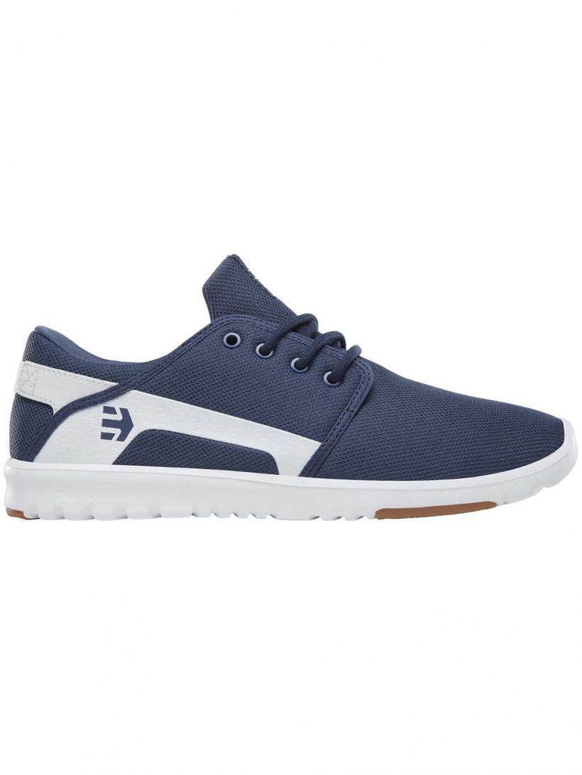 Etnies Scout Dark Blue/White   Mens Sneakers