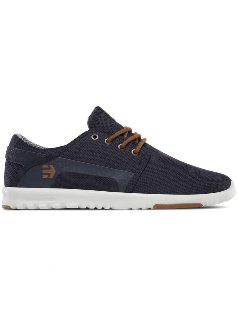 Etnies Scout Navy/Gold | Mens Sneakers