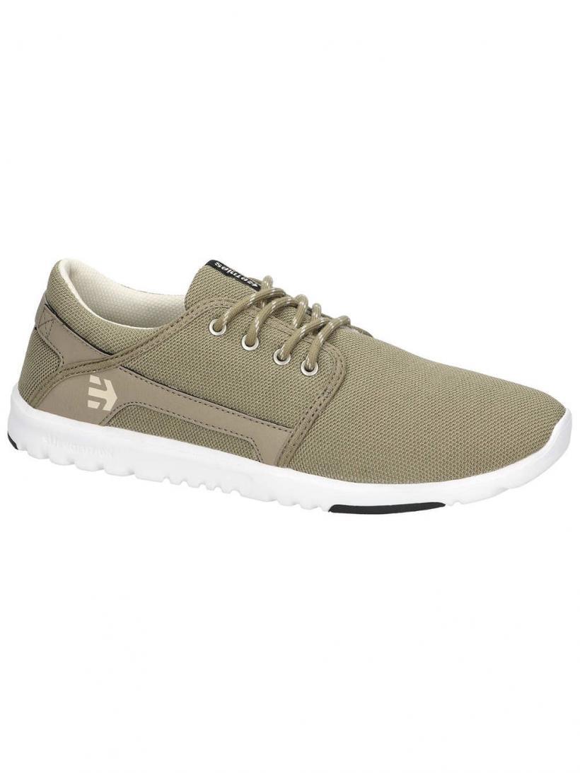Etnies Scout Tan/White/Black | Mens Sneakers