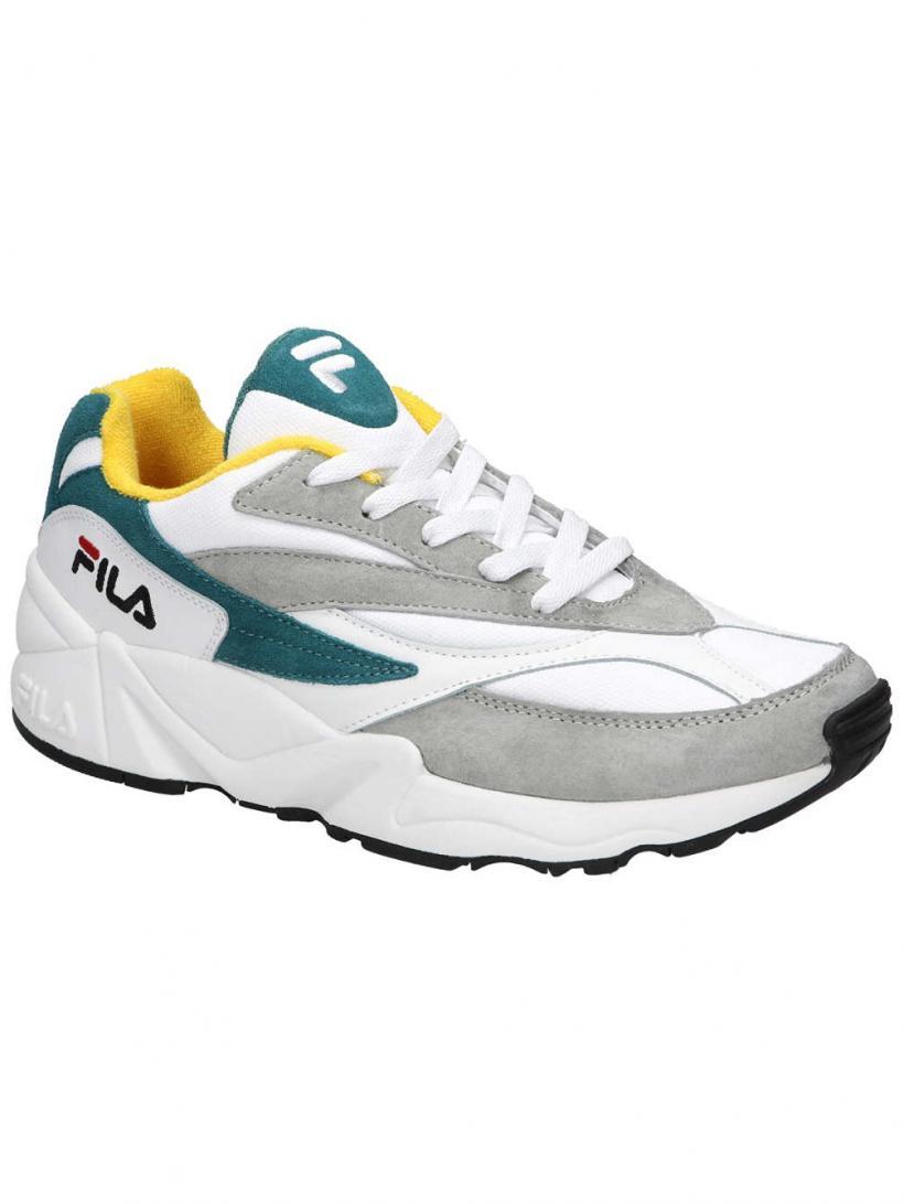 Fila Venom Low Gray Violet/Shaded Spruce | Mens Sneakers