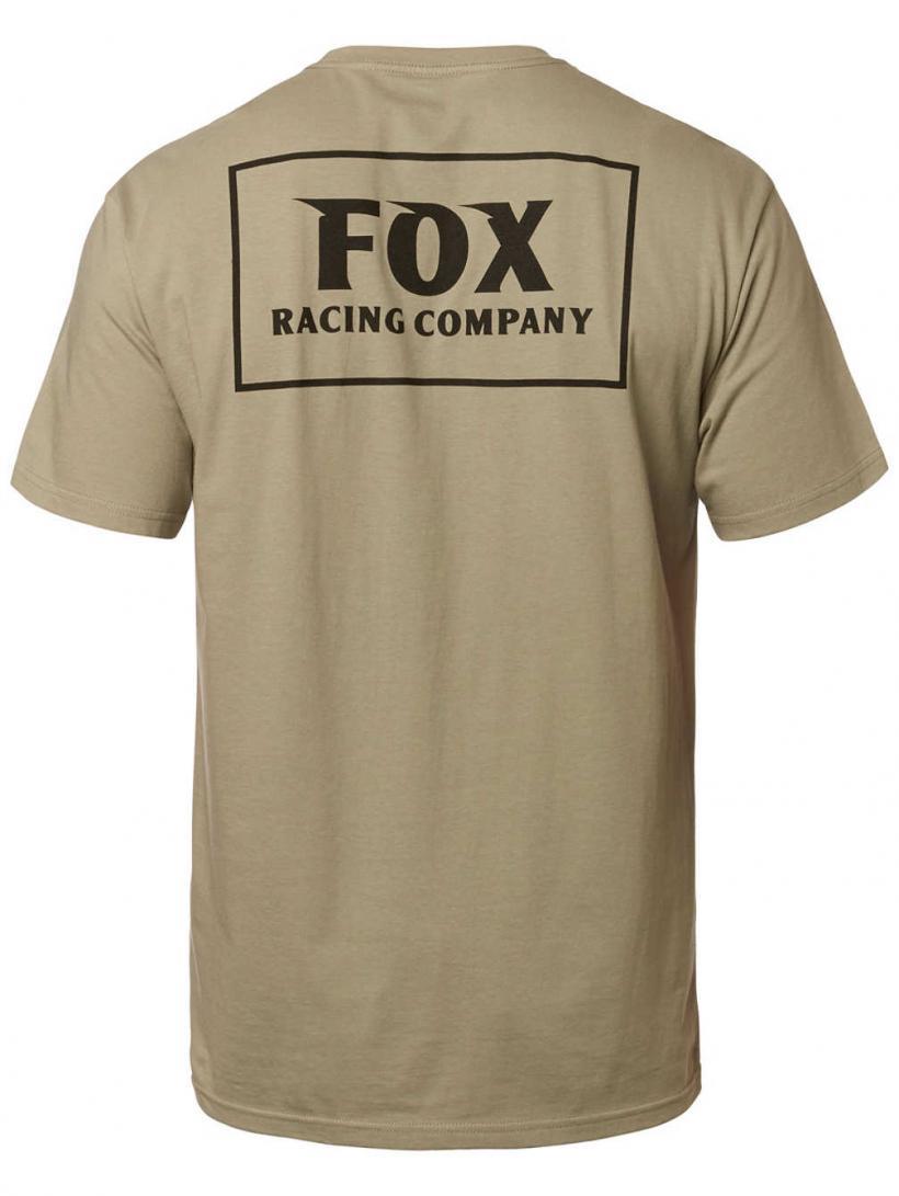 Fox Heater Pocket T-Shirt Sand   Mens T-Shirts