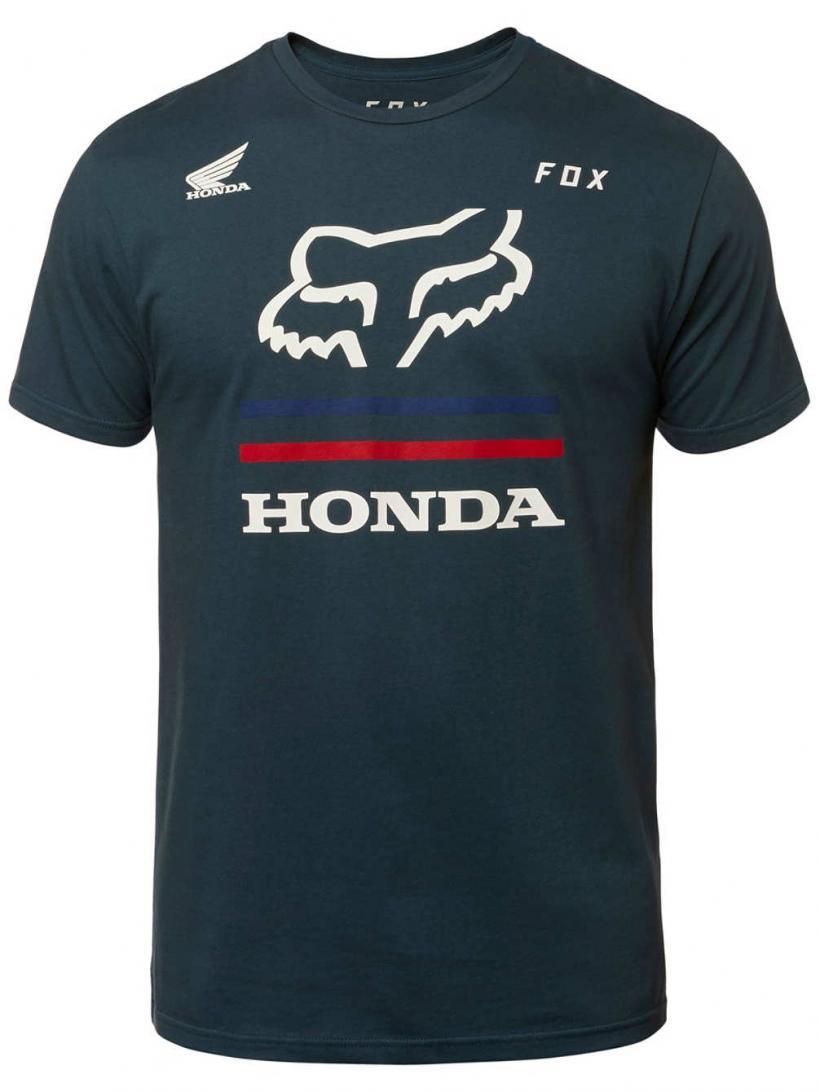 Fox Honda Premium T-Shirt Navy   Mens T-Shirts