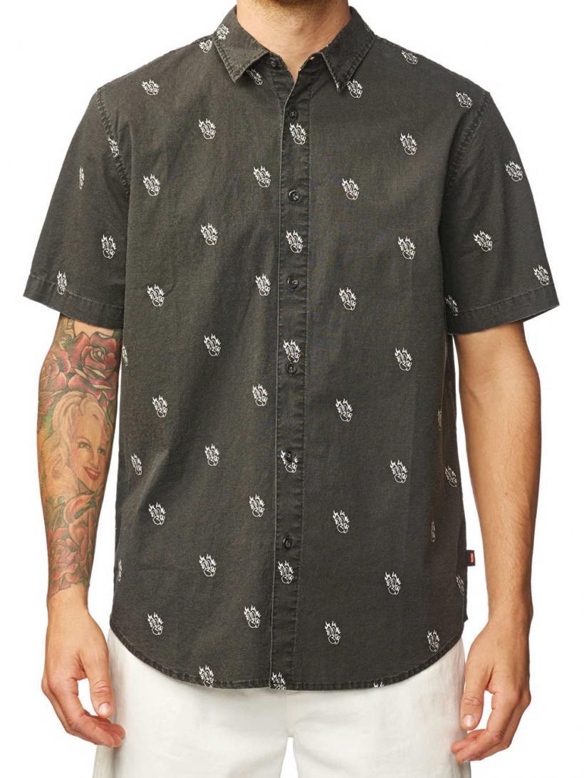 Globe Fortune Shirt Noir | Mens Shirts