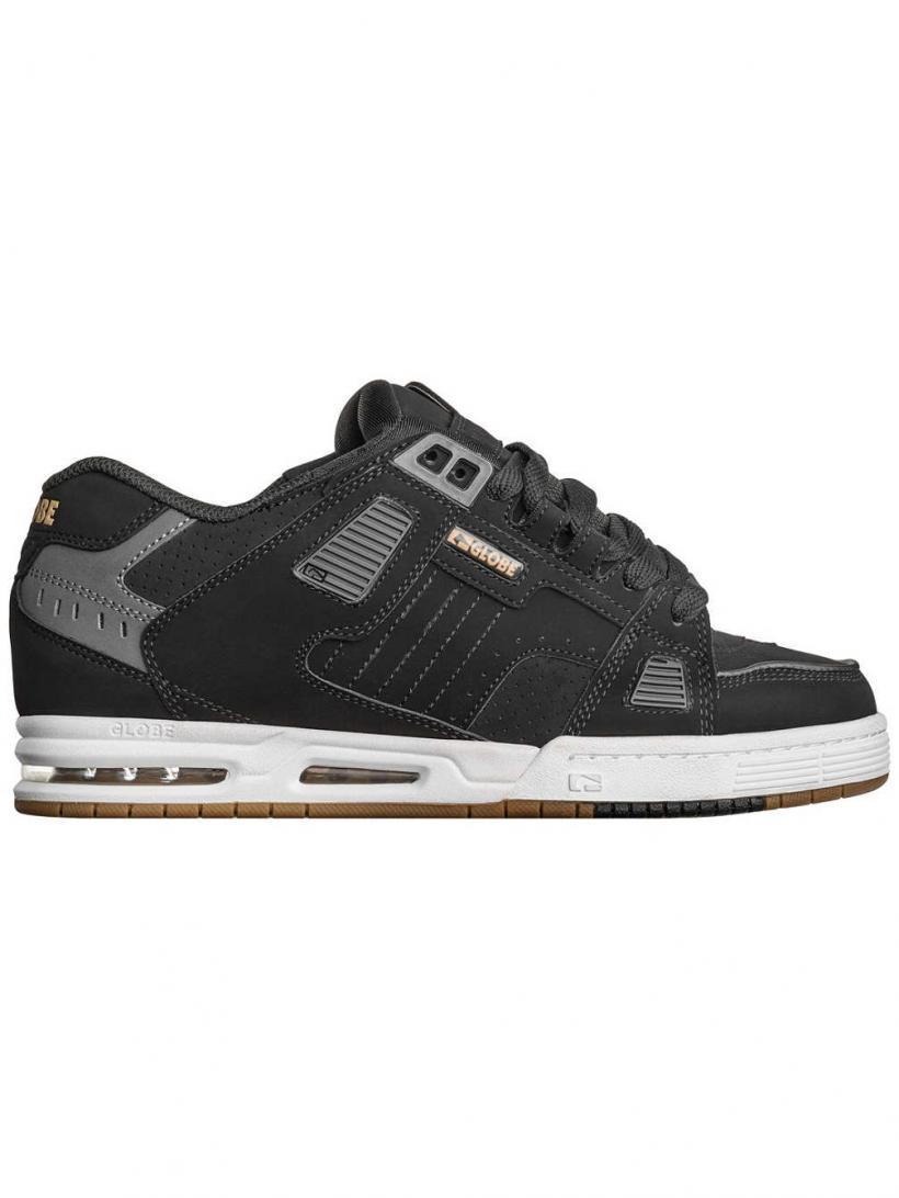 Globe Sabre Black/Gold | Mens Sneakers