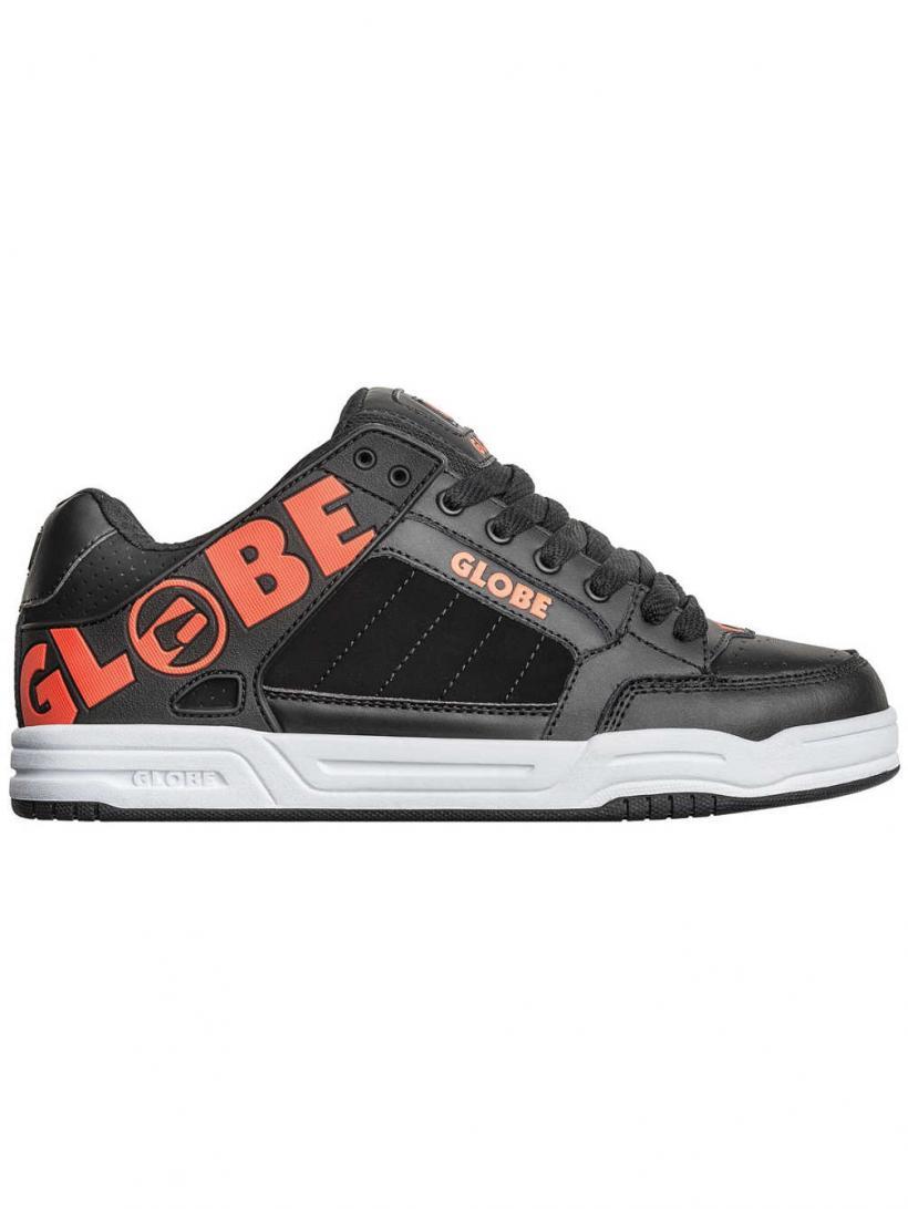 Globe Tilt Black/Spicy Orange | Mens Sneakers