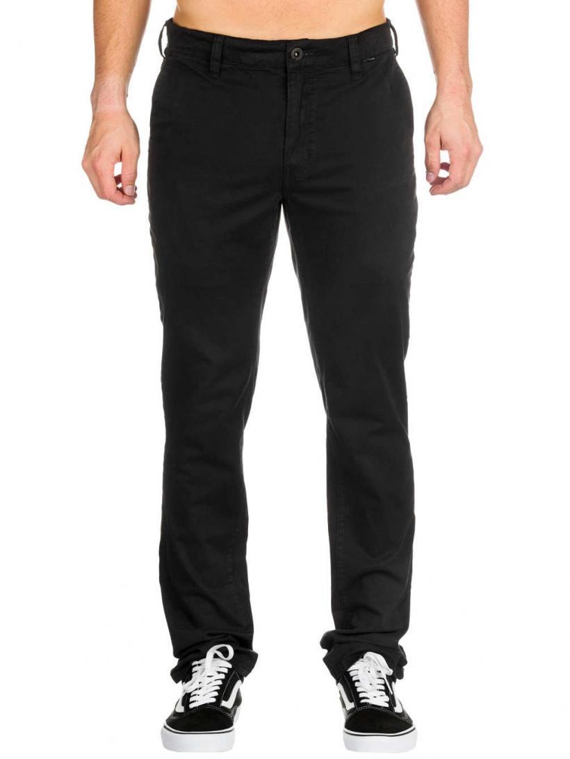 Hurley Corman Chino Pants Black | Mens Chino Pants