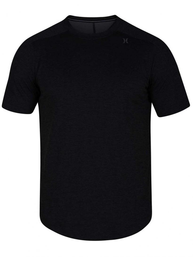 Hurley Quick Dry Breath T-Shirt Dk Grey Heather | Mens T-Shirts