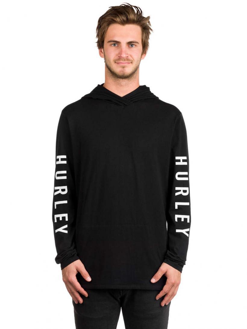 Hurley The One Hoodie Black | Mens Pullovers