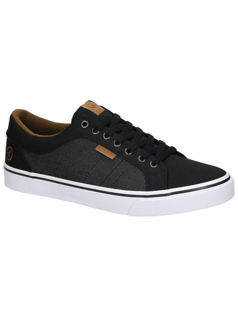 Kustom Highline Classic Black Granite   Mens Sneakers