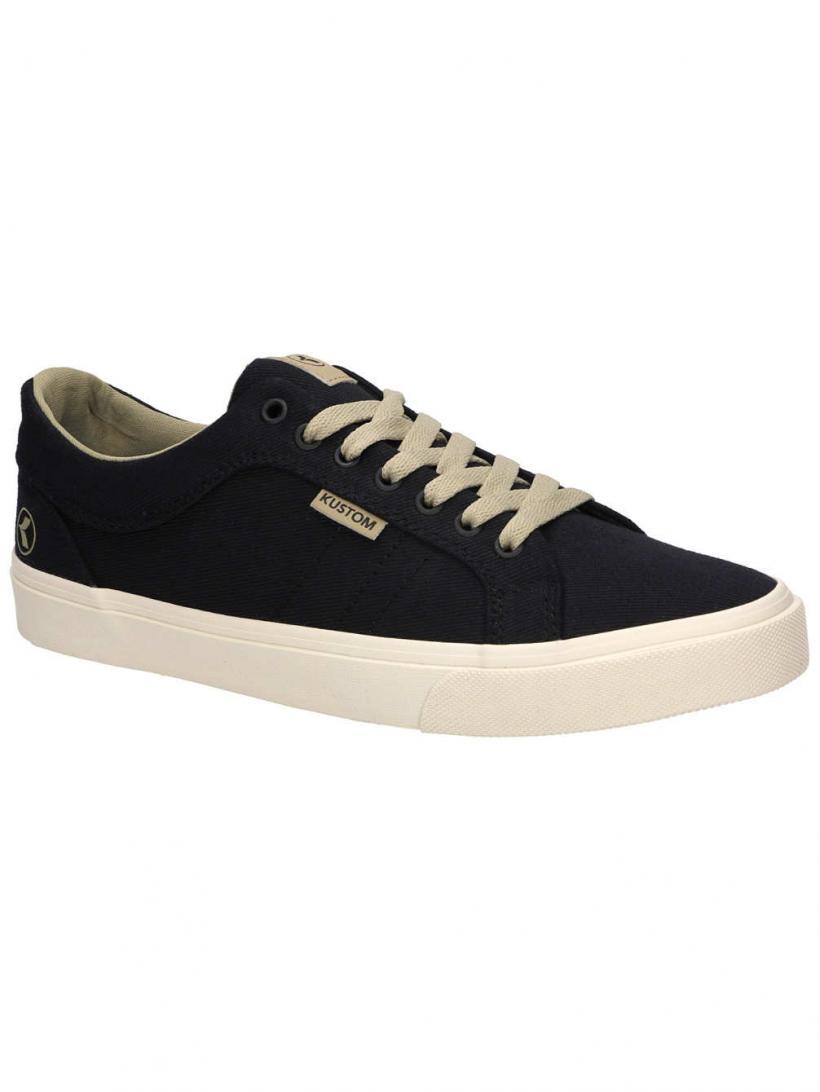 Kustom Highline Classic Black   Mens Sneakers