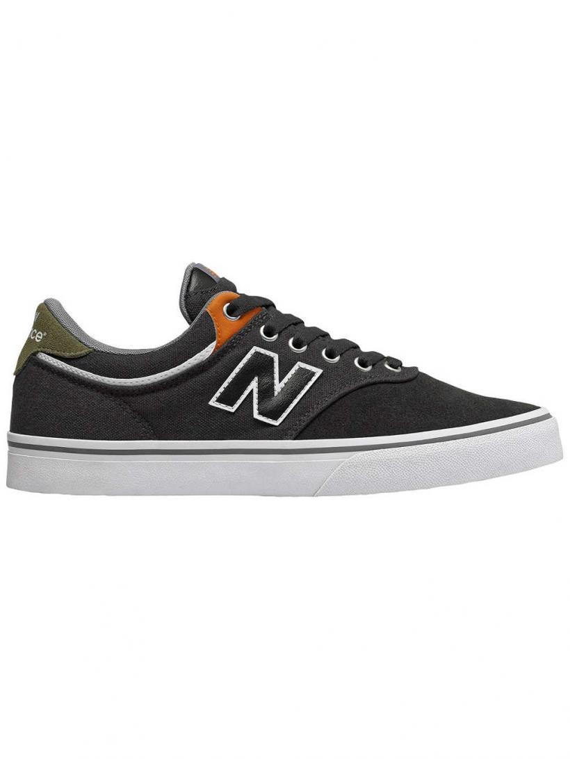 New Balance 255 Numeric Dark Grey   Mens Skate Shoes