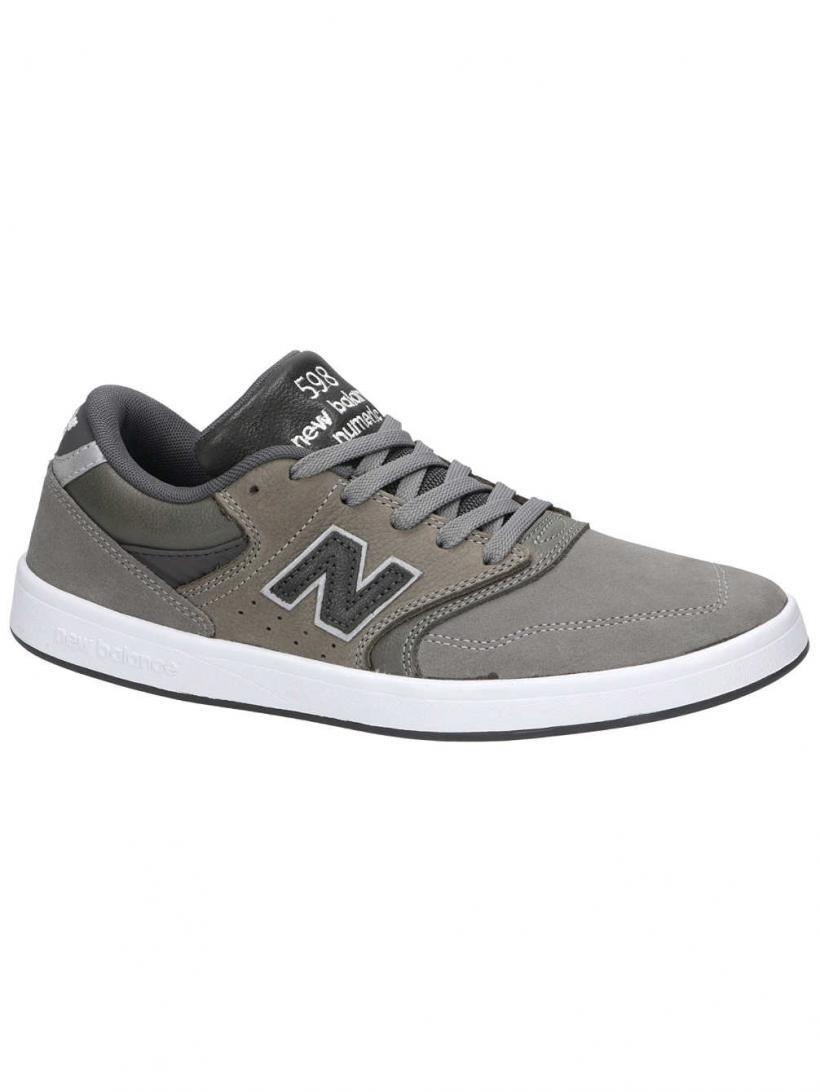 New Balance 598 Numeric Grey   Mens Skate Shoes