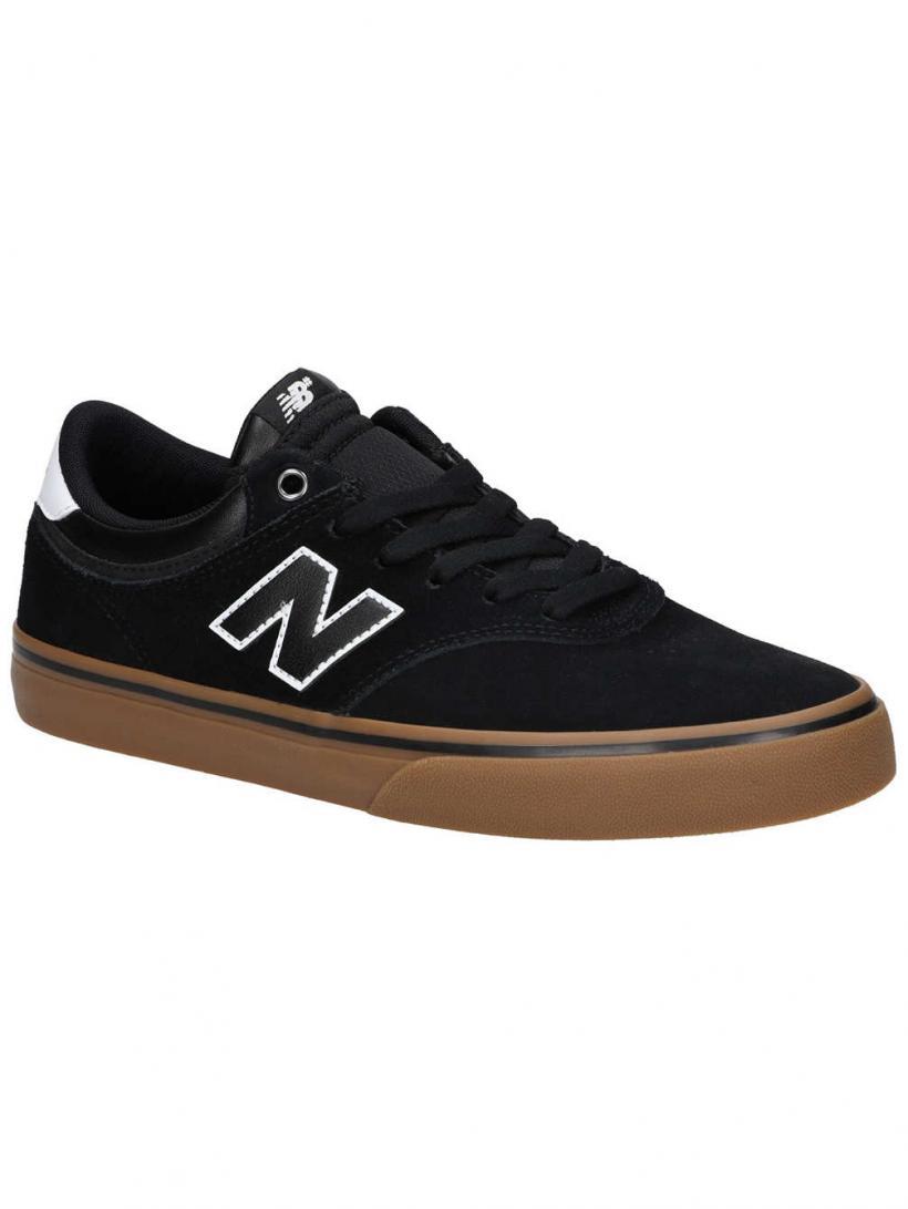 New Balance Numeric 255 Black/Gum   Mens Skate Shoes