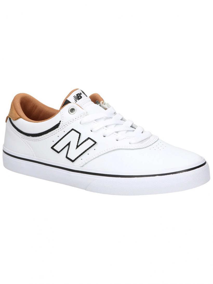 New Balance Numeric 255 White/Blue   Mens Skate Shoes