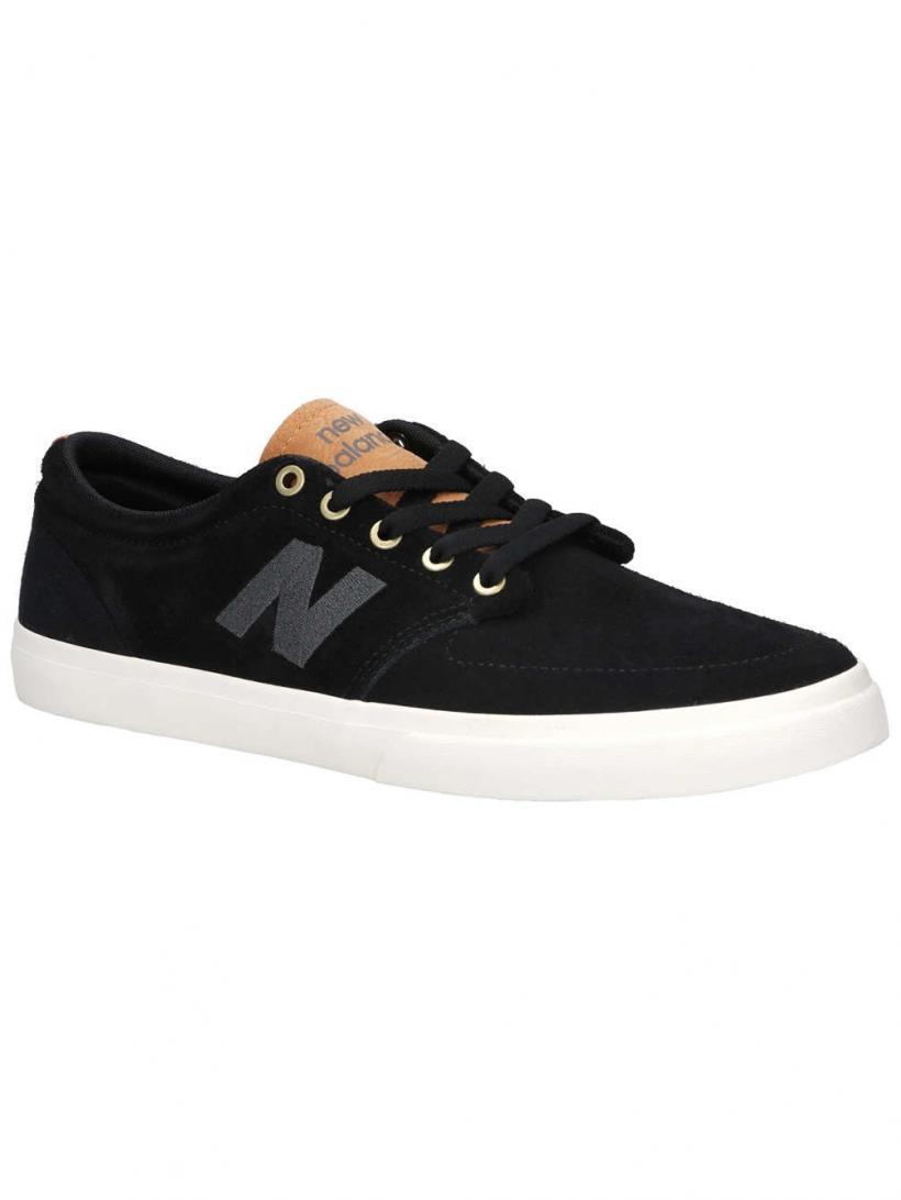 New Balance Numeric 345 Black/White   Mens Skate Shoes