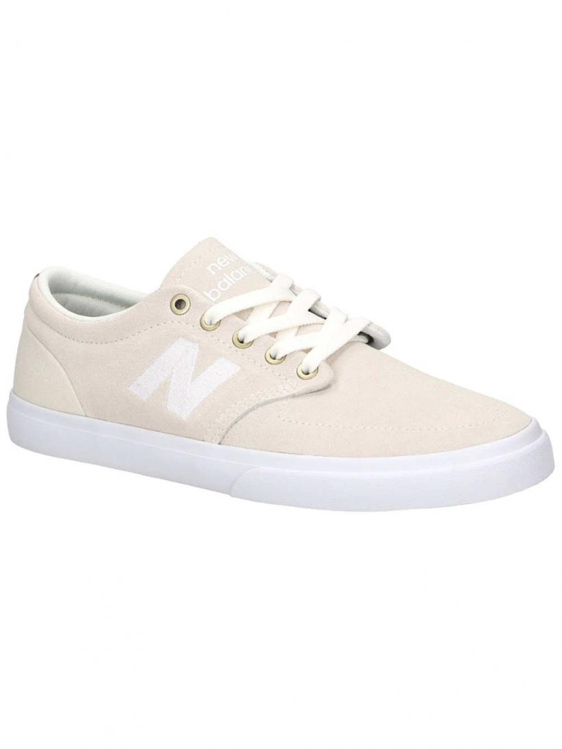 New Balance Numeric 345 White   Mens Skate Shoes