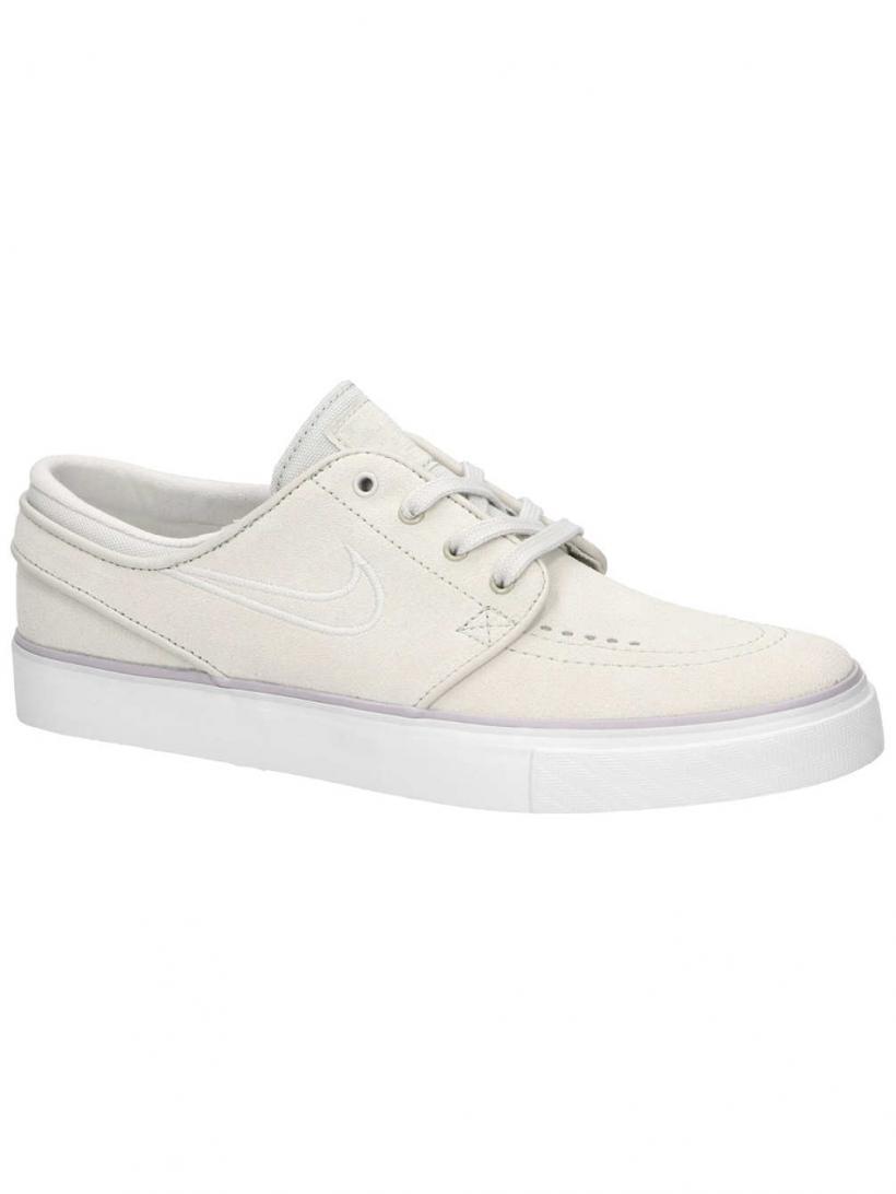 Nike Air Zoom Stefan Janoski White/White/White | Mens/Womens Sneakers