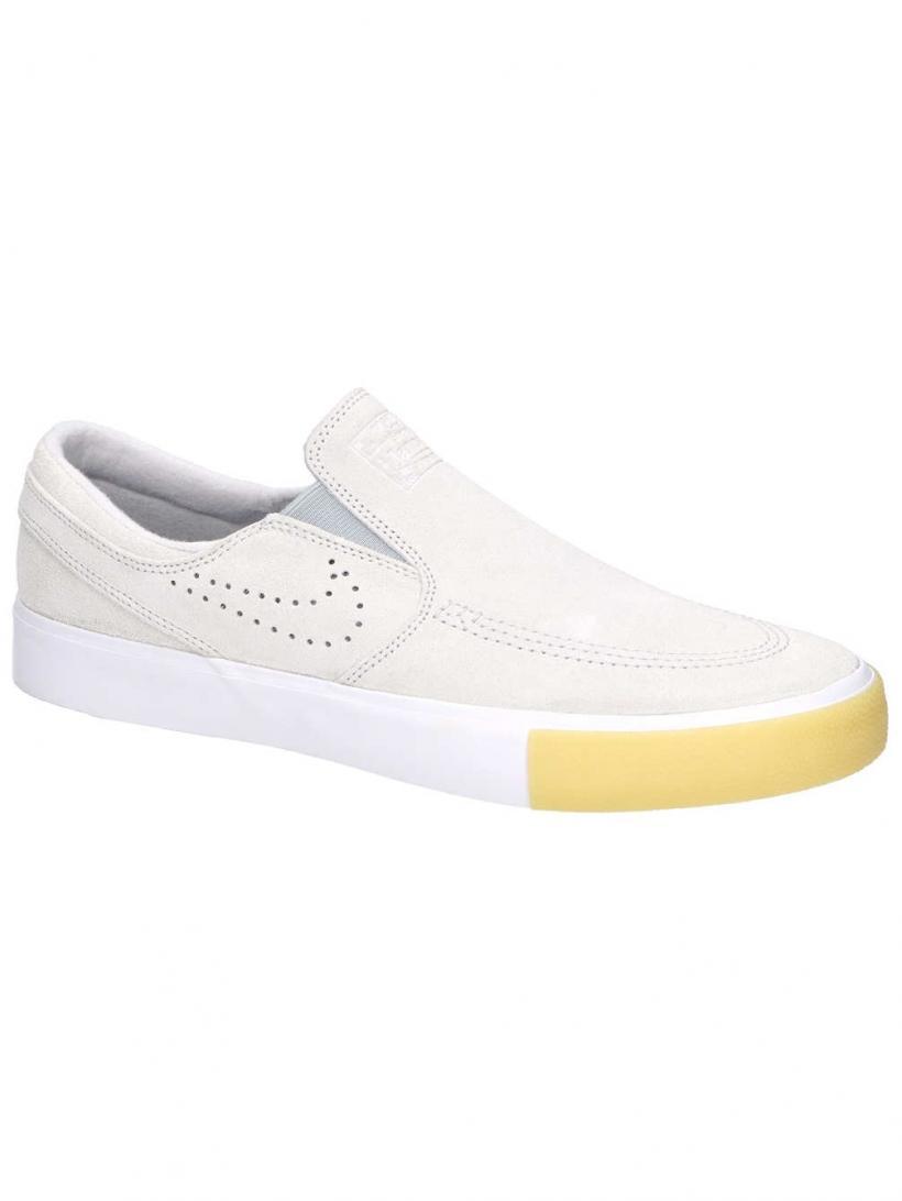 Nike Janoski RM SE Slip-Ons Wht/Wht/Vast Grey/Gum Yel | Mens/Womens Slip-Ons